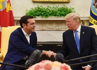 Πρόσκληση στον Ντ. Τραμπ να επισκεφθεί την Ελλάδα απηύθυνε ο Αλ. Τσίπρας