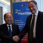 Τέσσερις συμφωνίες συνεργασίας Ελλάδας-Κίνας