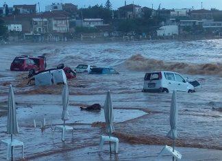 Εικόνες «βιβλικής» καταστροφής στο νησί της Σύμης