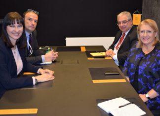 Συνάντηση Έλενας Κουντουρά με την Πρόεδρο της Μάλτας
