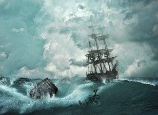 Ακυβέρνητο πλοίο στα ανοιχτά του λιμανιού του Πειραιά