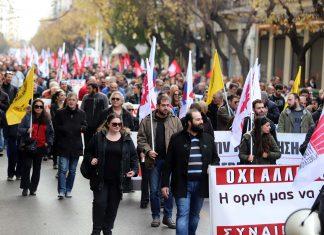 ΓΣΕΕ: «Η κυβέρνηση δείχνει πλήρη υποταγή στην τρόικα»