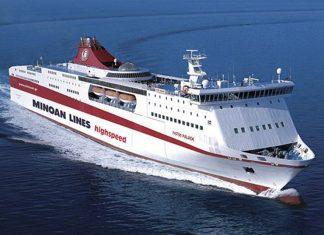 Προσέκρουσε στο λιμάνι του Ηρακλείου το «Φαιστός Παλάς»