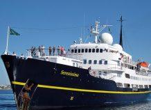 Θεσσαλονίκη: Έκανε «ποδαρικό» το κρουαζιερόπλοιο «Serenissima»