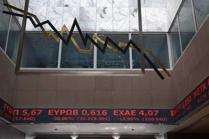 Εβδομαδιαίες απώλειες 4,81% στο Χρηματιστήριο Αθηνών