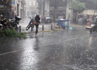 Ισχυρές καταιγίδες, θυελλώδεις ανέμους και μεταφορά αφρικανικής σκόνης θα φέρει η κακοκαιρία «Κίρκη»