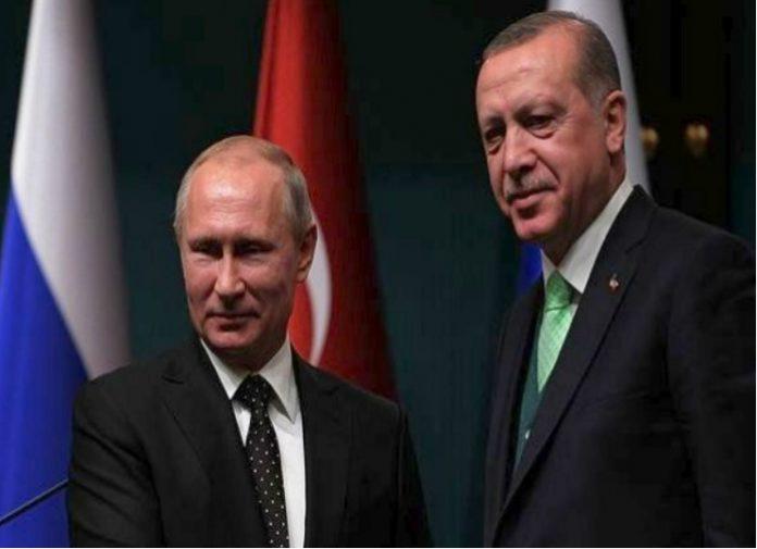 Οι σχέσεις ΗΠΑ- Ιράν, Λιβύη και Συρία στην ατζέντα των επαφών Ερντογάν-Πούτιν