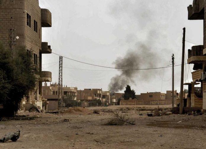 Το πυροβολικό της Τουρκίας έπληξε κουρδικές θέσεις ανατολικά της Ταλ Αμπιάντ, στη Συρία