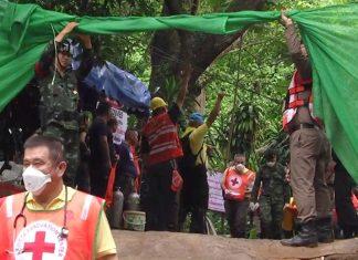Σώα και τα 12 παιδιά - Συγκλονιστικό βίντεο μέσα από τη σπηλιά