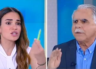 Αγριος καβγάς on air: Εξαλλη η παρουσιάστρια με τον Μπαλάφα (Βίντεο)