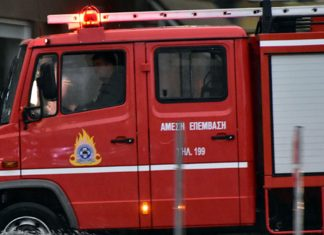 Πανικός στην Κρήτη: Τουριστικό λεωφορείο τυλίχθηκε στις φλόγες [Video]