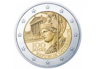 Τα 100 χρόνια από την ίδρυση της Δημοκρατίας της Αυστρίας εορτάζονται με ένα νόμισμα με την... θεά Αθηνά!
