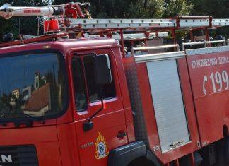 Πυρκαγιά σε διαμέρισμα στα Πατήσια (video)