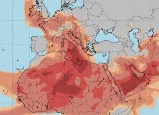 Αφρικανική σκόνη και νεφώσεις το σημερινό σκηνικό του καιρού