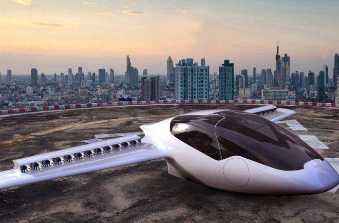 Το πρώτο ηλεκτρικό πενταθέσιο ιπτάμενο ταξί κάθετης απογείωσης
