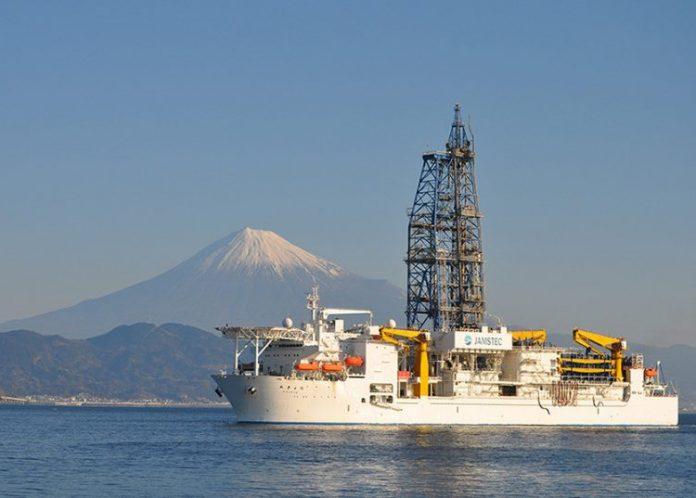 Ιαπωνικό ερευνητικό πλοίο έκανε ρεκόρ γεώτρησης στα 3.250 μ. κάτω από τον βυθό