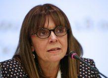 Αικ. Σακελλαροπούλου: Τιμάται, στο πρόσωπο μου, η Δικαιοσύνη και η σύγχρονη Ελληνίδα