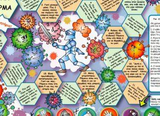 «Νίκησε τον Ιό»- Ένα επιτραπέζιο παιχνίδι για παιδιά από το Συμβούλιο της Ευρώπης (online game)