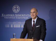 Ν. Δένδιας: Απαραίτητη η αποχώρηση των ξένων δυνάμεων από τη Λιβύη