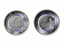 Το συλλεκτικό μετάλλιο της Επιτροπής «Ελλάδα 2021» παρουσίασε στην ΠτΔ, η Γ. Αγγελοπούλου