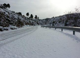 Σε εξέλιξη το τρίτο κύμα της κακοκαιρίας «Λέανδρος» - Χιονοπτώσεις σε χαμηλό υψόμετρο στα ανατολικά και νότια