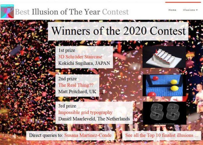 Τις καλύτερες οφθαλμαπάτες του 2020 ανέδειξε ο διαγωνισμός Best Illusion of the Year Contest